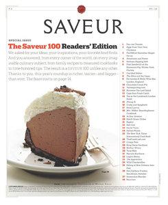 Saveur - January/February 2010