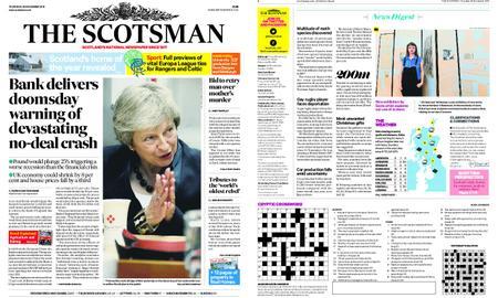 The Scotsman – November 29, 2018