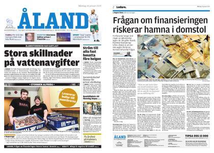 Ålandstidningen – 14 januari 2019