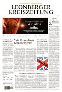 Leonberger Kreiszeitung - 09. Oktober 2019