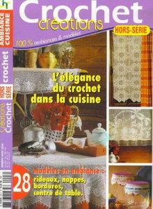 Crochet Creations - L'elegance du crochet dans la cuisine ( January 2010)