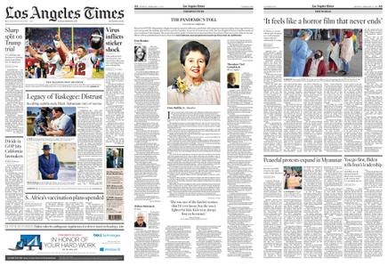 Los Angeles Times – February 08, 2021