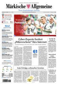 Neue Oranienburger Zeitung - 18. Juni 2018