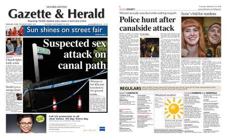 Gazette & Herald – September 19, 2019