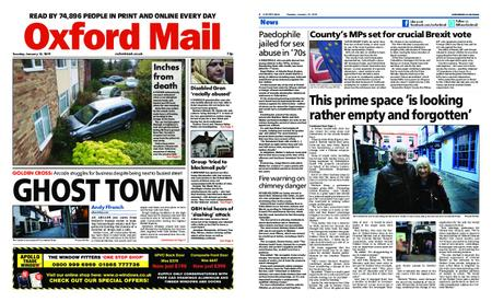 Oxford Mail – January 15, 2019