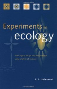 Design and analysis of ecological experiments pdf