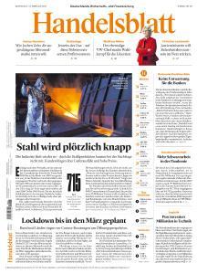 Handelsblatt - 10 Februar 2021