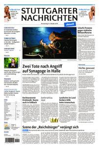 Stuttgarter Nachrichten Fernausgabe - 10. Oktober 2019
