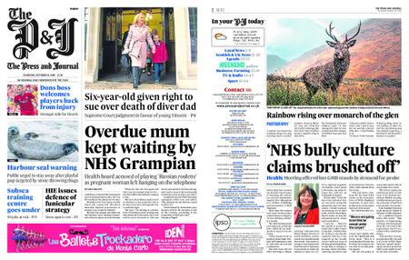 The Press and Journal Moray – October 18, 2018
