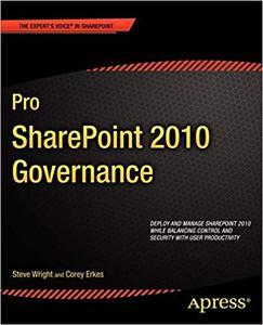 Pro SharePoint 2010 Governance (Repost)