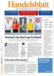 Handelsblatt - 09 Dezember 2019