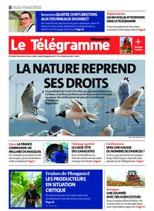 Le Télégramme Concarneau – 29 mars 2020