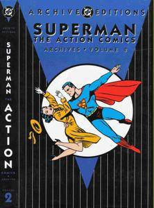 DC Archive Editions - Superman the Action Comics Archives - Volume 2 1998 DC 236P