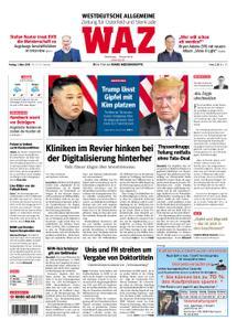 WAZ Westdeutsche Allgemeine Zeitung Oberhausen-Sterkrade - 01. März 2019