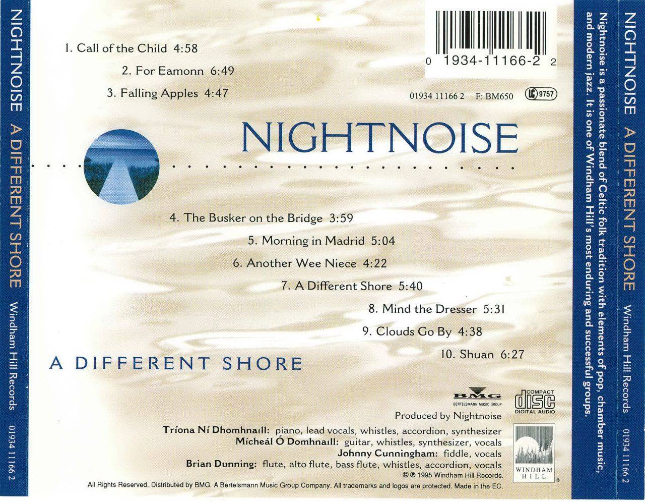 Nightnoise - A Different Shore (1995)