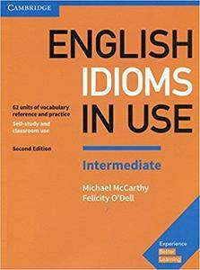 English Idioms in Use Intermediate Book with Answers: Vocabulary Reference and Practice  (2nd Edition)
