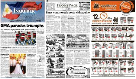 Philippine Daily Inquirer – June 13, 2010