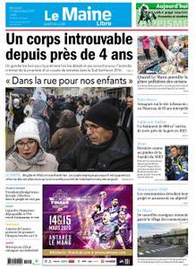 Le Maine Libre Sarthe Loir – 11 décembre 2019