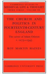 Church Politcs:Adam Orleton