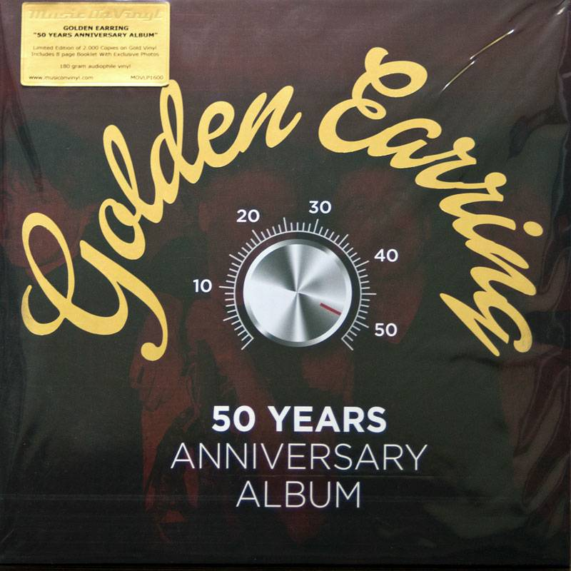 Golden Earring 50 Years Anniversary Album 2016 3lp
