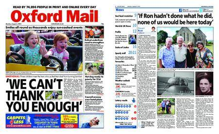 Oxford Mail – August 06, 2018