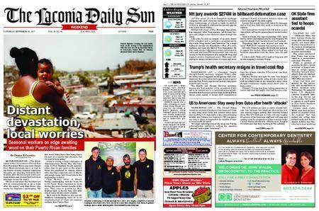 The Laconia Daily Sun – September 30, 2017