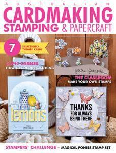 Australian Cardmaking, Stamping & Papercraft - April 2017