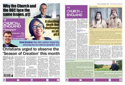 The Church of England – September 03, 2020