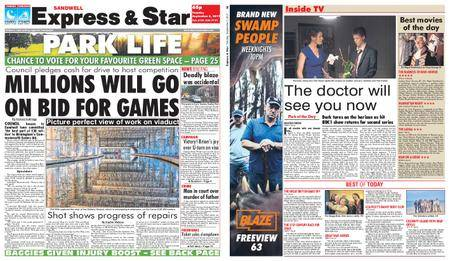 Express and Star Sandwell Edition – September 05, 2017