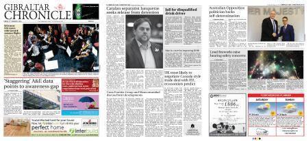 Gibraltar Chronicle – 05 January 2018