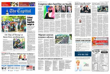 The Capital – October 22, 2018