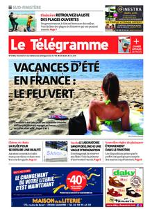 Le Télégramme Ouest Cornouaille – 15 mai 2020