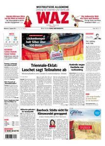 WAZ Westdeutsche Allgemeine Zeitung Oberhausen-Sterkrade - 08. August 2018