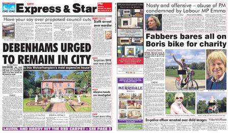 Express and Star City Edition – October 23, 2018