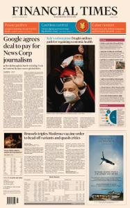 Financial Times Middle East - February 18, 2021