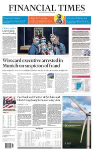 Financial Times Europe - July 7, 2020
