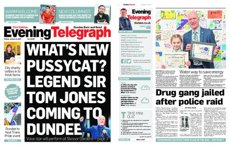 Evening Telegraph First Edition – January 21, 2019