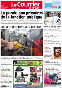 Le Courrier de l'Ouest Nord Anjou – 08 mai 2019