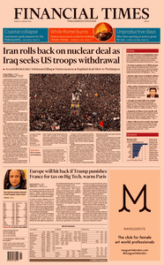 Financial Times Europe – 06 January 2020
