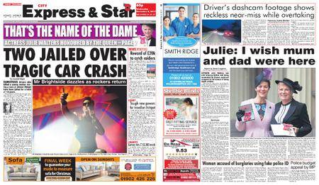 Express and Star City Edition – November 08, 2017