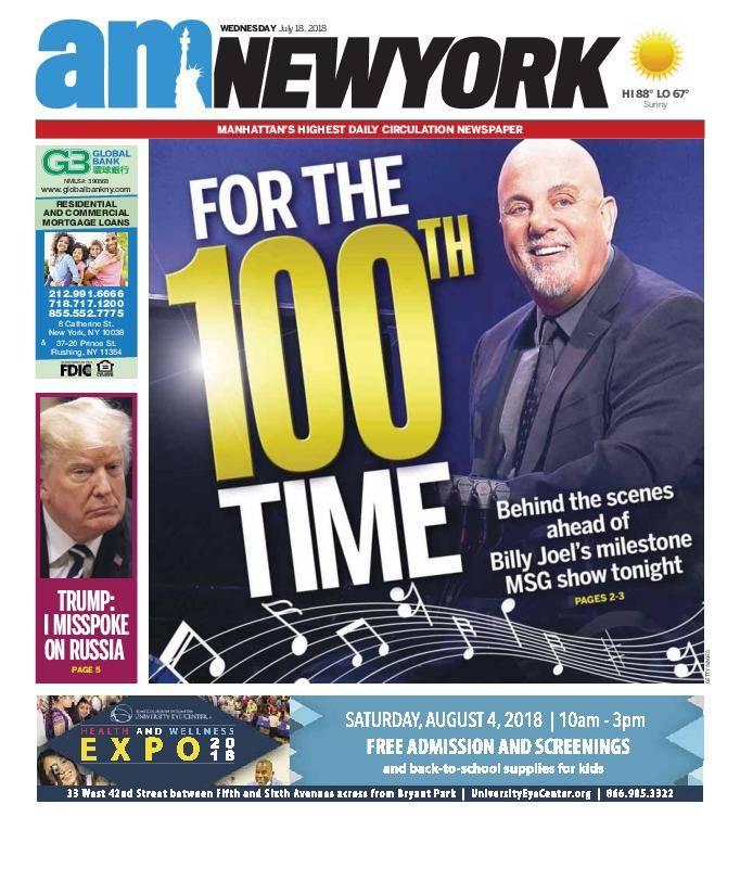 AM New York - July 18, 2018