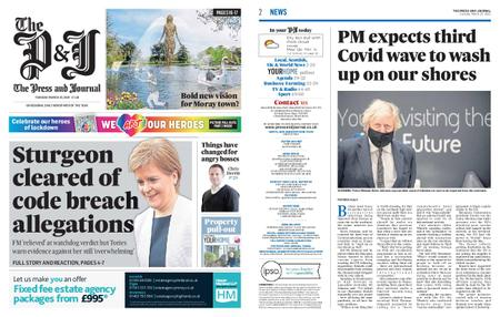 The Press and Journal Moray – March 23, 2021