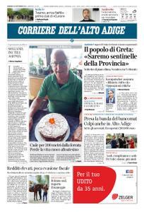 Corriere dell'Alto Adige – 29 settembre 2019
