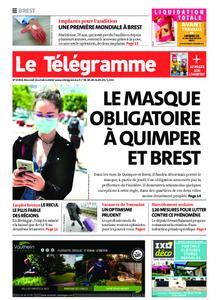 Le Télégramme Brest – 14 octobre 2020