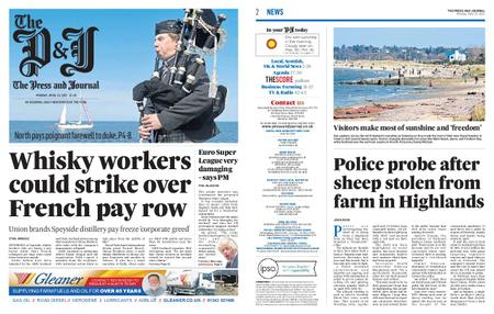 The Press and Journal Moray – April 19, 2021