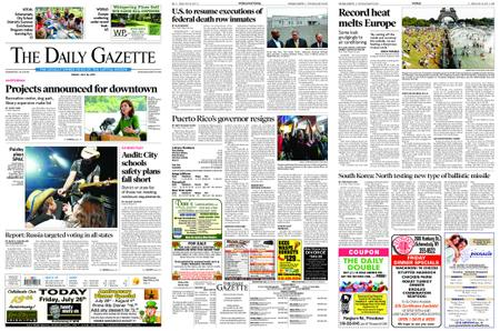 The Daily Gazette – July 26, 2019