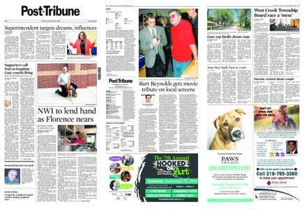 Post-Tribune – September 13, 2018
