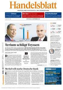 Handelsblatt - 28. September 2016