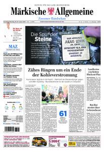 Märkische Allgemeine Zossener Rundschau - 26. Januar 2019