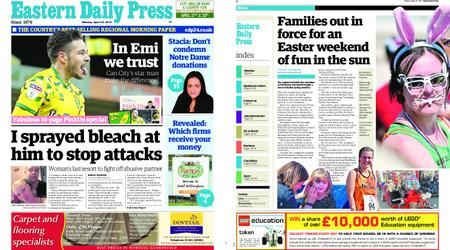 Eastern Daily Press – April 22, 2019